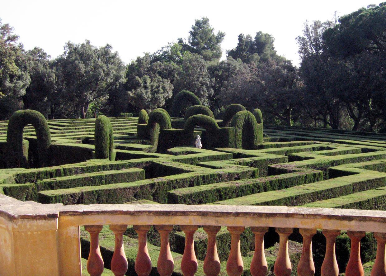 Парк-лабиринт в Барселоне